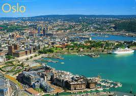 Een vakantie naar Noorwegen o.a. naar Oslo, Bekkestua, Sandvika en Sandvika Sykehus.