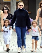 Jennifer Lopez and twins Max and Emme on their fifth birthday