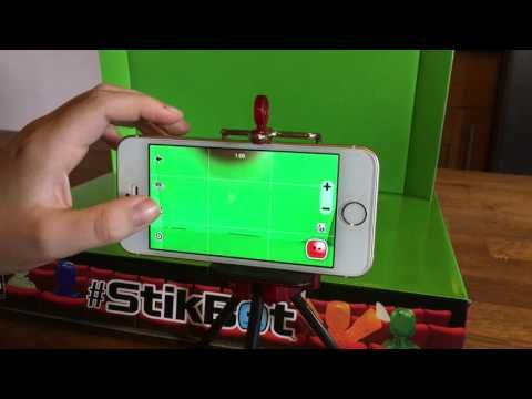 How To Use Stikbot Studio App and Green Screen - YouTube