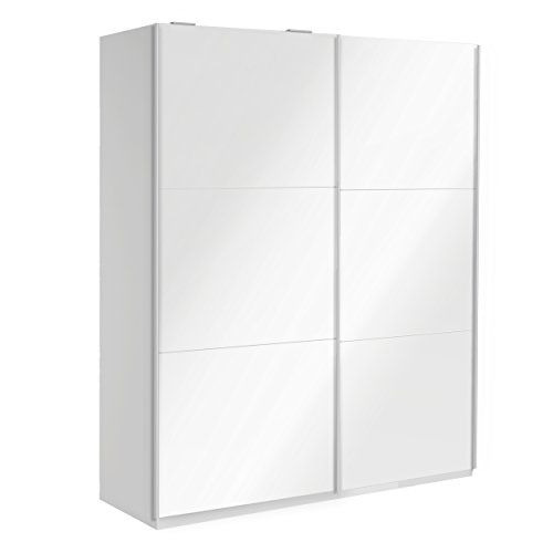 Kitchen Cabinets Ideas | Parisot 302113302611 Wardrobe Sliding Doors 78 White Gloss *** Click image for more details. Note:It is Affiliate Link to Amazon.