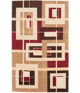 Nepal Design Teppich Dieser Schöne Nepal Design Teppich 00012656 Stammt Aus  Indien Und Hat Die Farbe Beige, Rot. Der Teppich Ist Aus Hochwertigem  Material ...