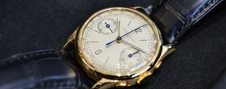 Vacheron Constantin vintage chronograph ref. 4072 hands-on - Monochrome-Watches