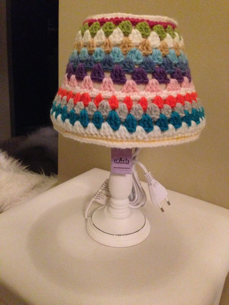 Table Lamp Granny Small by nArtes on Etsy