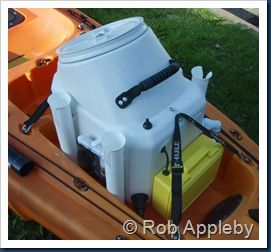 dry storage box for rear of kayak - Google Search
