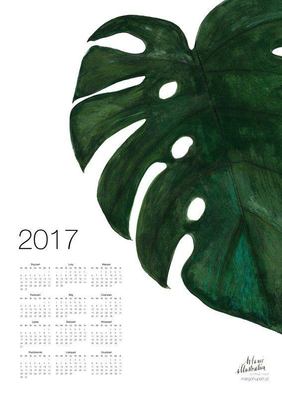 Kalendarz - plakat/poster print