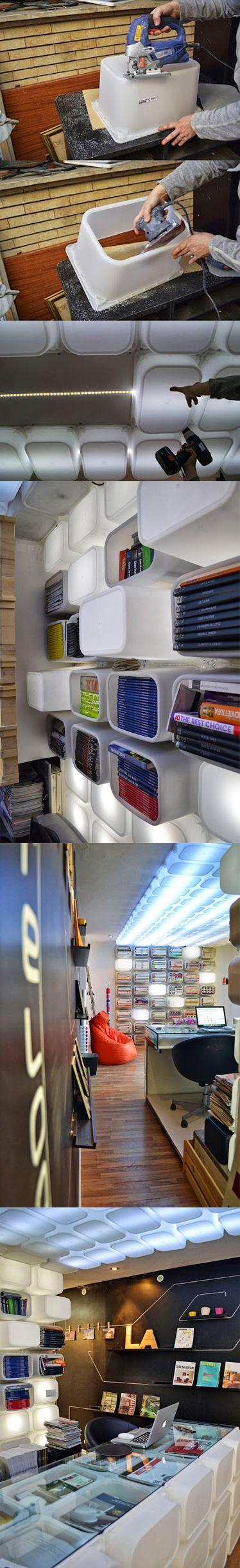 Ingenioso ikea hack con cajas Trofast #futurista