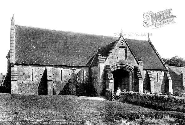 Glastonbury, The Abbey Barn 1896, from Francis Frith