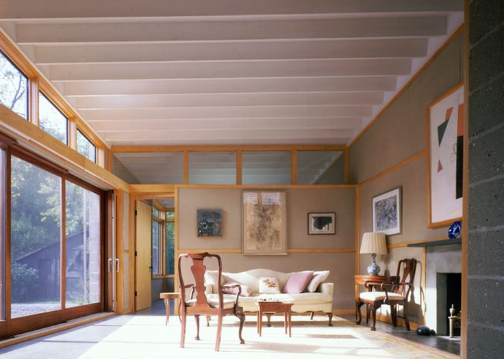 Ryall Porter Sheridan, Fisher Island House, house extension, sustainable insulation, recycled newspaper walls, concrete walls