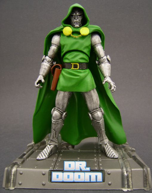 Custom Dr Doom Marvel Legends Action Figure