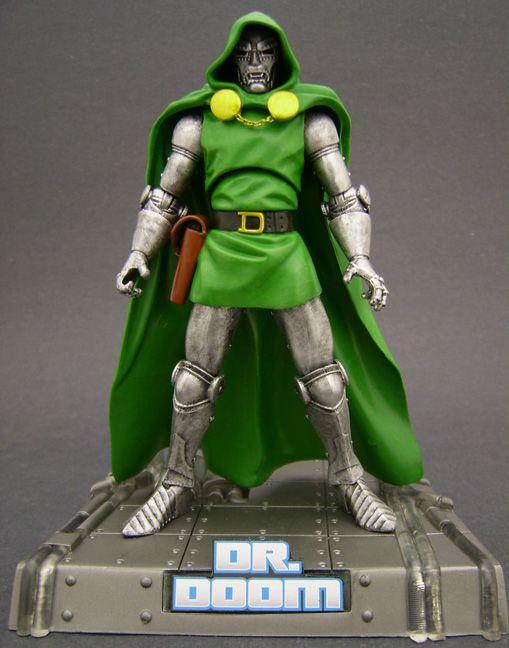 Custom Dr Doom Marvel Legends Action Figure