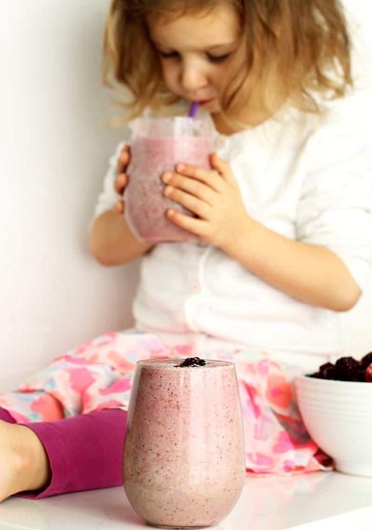 Kids Drinking Chocolate Milk