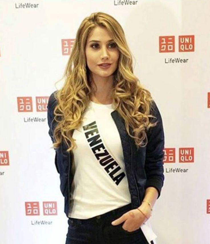 Miss Venezuela Mariam Habach.. Sencilla e impecable. para una de las Actividades del  Miss Universe 2016-2017. by Antoni Azocar..