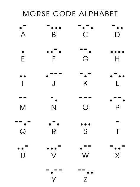 Morse Code Initial tattoo idea