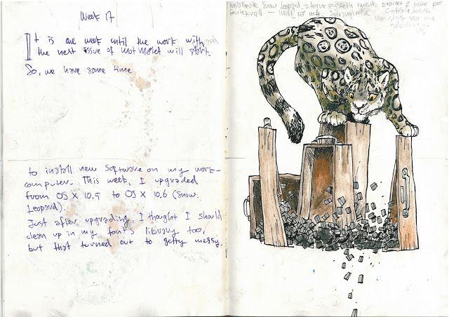 Drawing Diary: Week 17 2013 nr2