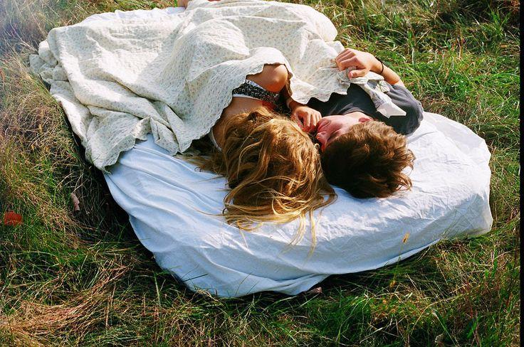 Sleep outside in the open