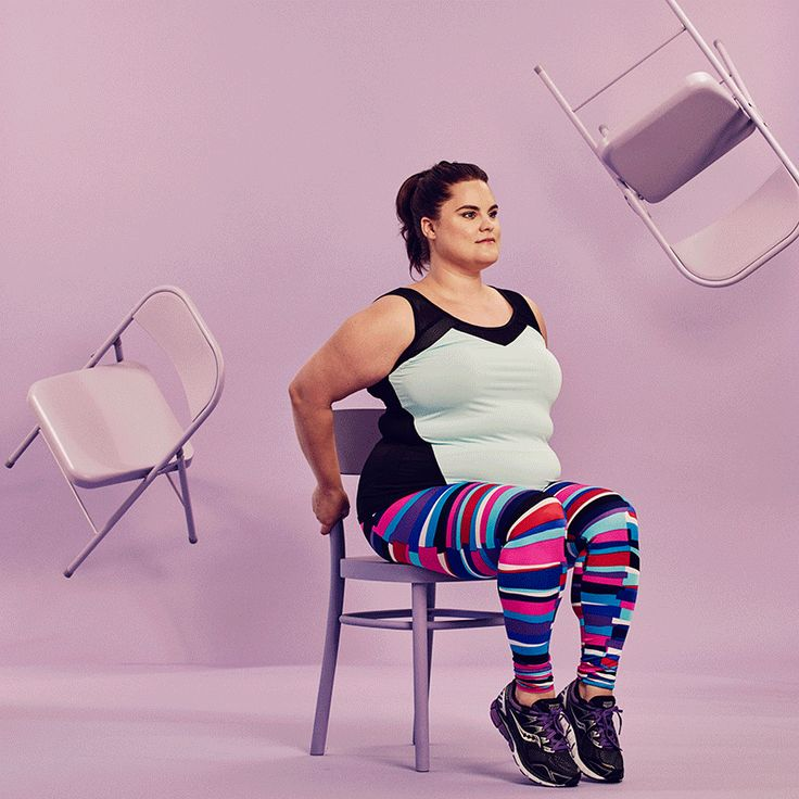 The Cheapest, Most Effective 30-Day Challenge Yet #refinery29 http://www.refinery29.com/2016/08/118411/chair-exercises-30-day-fitness-challenge#slide-3