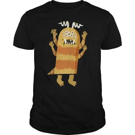 Awesome Tee HAIRY HARRY monsters t shirt T shirts