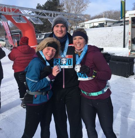 Alberta premier Rachel Notley runs half-marathon before heading to U.S. for business