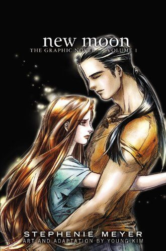New Moon: The Graphic Novel, Vol. 1 (The Twilight Saga) by Stephenie Meyer http://www.amazon.com/dp/0316217182/ref=cm_sw_r_pi_dp_XIWiwb00GNMH1