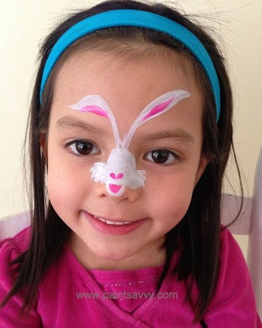 Bunny Rabbit Face Painting Ideas Image Gallery HCPR