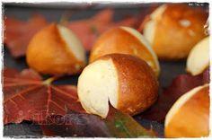 Laugenkastanien   für 38 Stück        140g Wasser   10g Hefe      3 Min./37°/St.1        250g Mehl Typ 550   20 g Butter   1 TL Honig  ...
