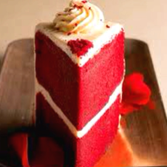 Red velvet wedding cake...can't wait for this part!