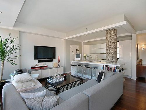 White Walls   Clean Look. Condo Interior DesignCondo ...