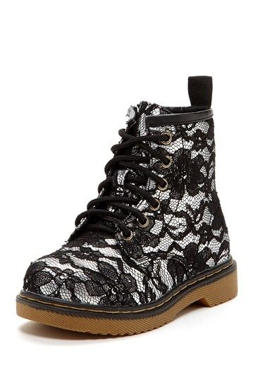 Lace Combat Boot by Crazy For Combat Boots! Sizes US 12,US 12.5, US 1.5 (2 available) US 3 (little kid shoe 4-8 years old)