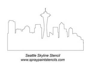 Seattle Skyline Sketch - Bing images