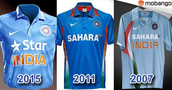 Which ODI Cricket jersey of Indian cricket team did you like ?  1) 2015 2) 2011 3) 2007 Get the Latest Cricket games for free! Click here: http://www.mobango.com/free-cricket-games/?track=Q1X2U514&sid=69&cid=1858294&frompage=search&type=special&track=Q148X1749