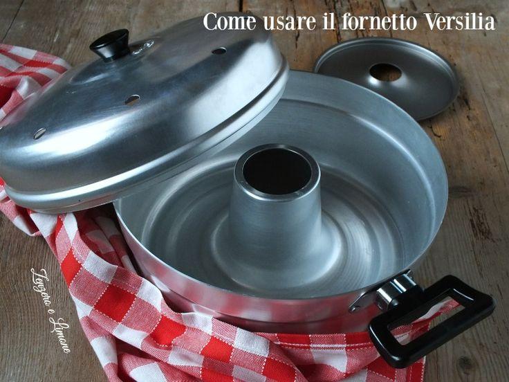 Il fornetto Versilia permette di cuocere sul fornello ciò che comunemente si mette nel forno tradizionale. Grande risparmio energetico. Torte alte e soffici