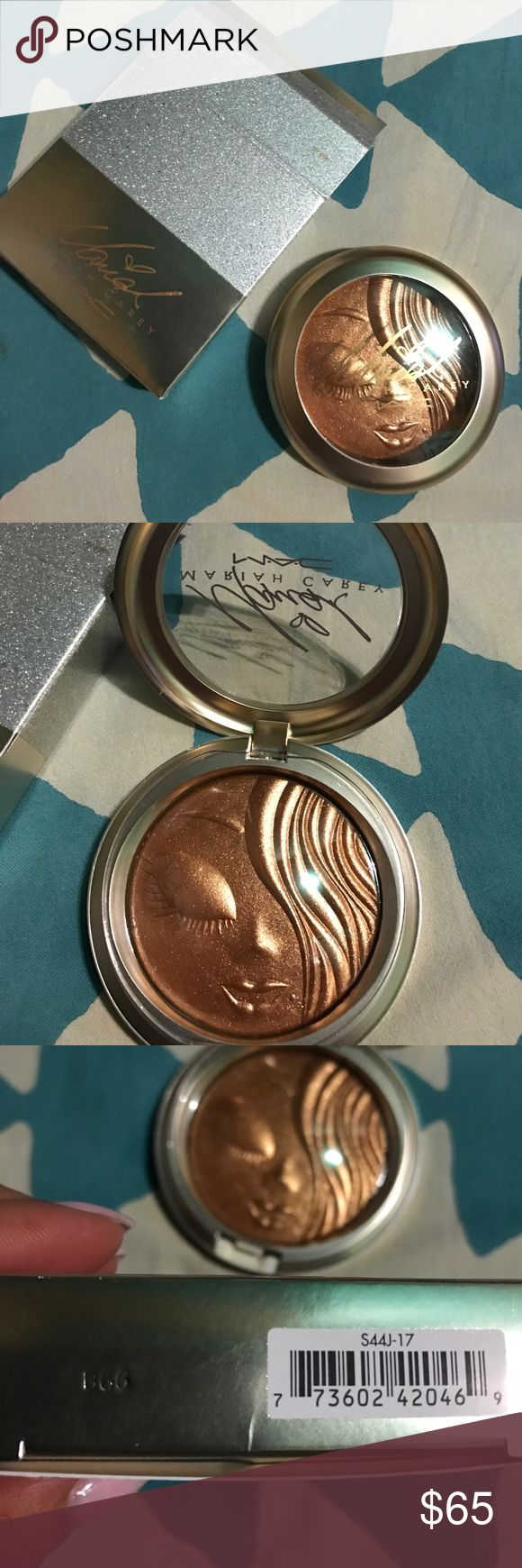 MAC EXTRA DIMENSION LIMITED EDITION MARIAH CAREY MAC LIMITED EDITION MARIAH CAREY MY MIMI EXTRA DIMENSION HIGHLIGHTER . MAC Cosmetics Makeup Luminizer
