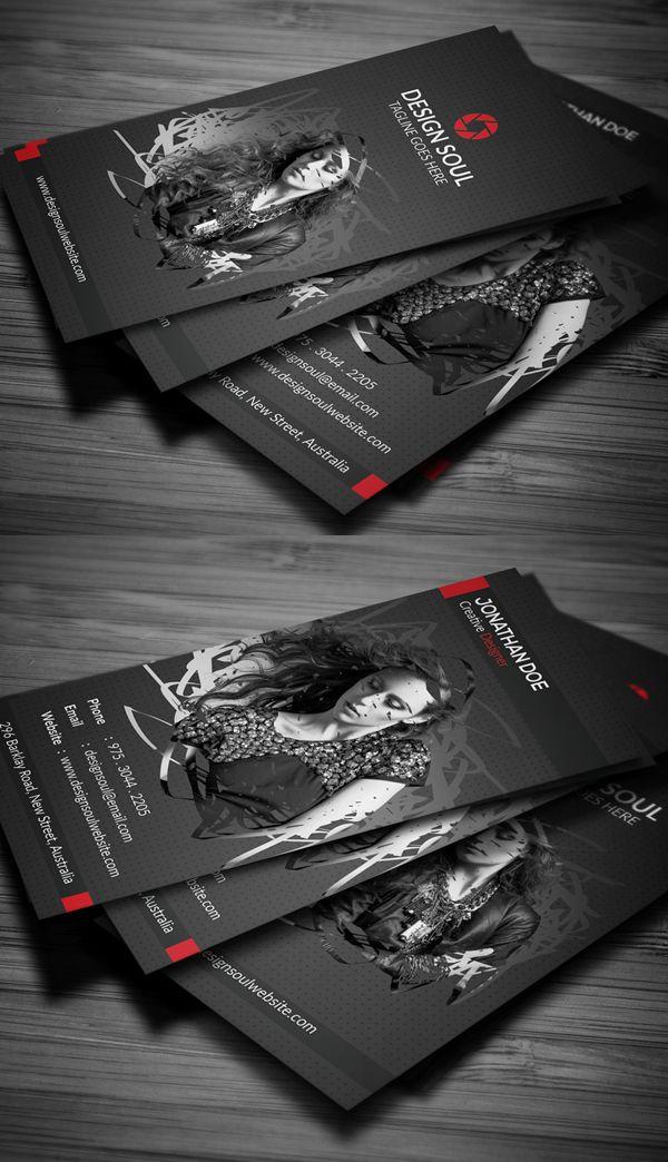 Photography Business Card businesscards businesscardesign printready
