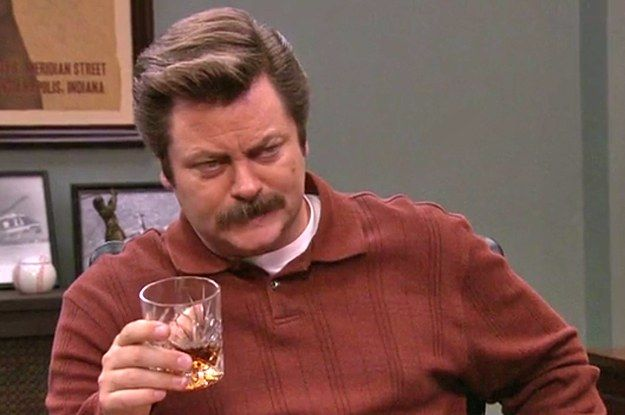 9 steps to becoming a light whiskey drinker.  Narrated by Ron Swanson and this Quora thread.