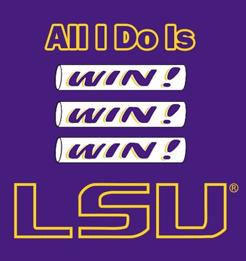 """This is """"Win Win Win"""" by Mark Simmons. Here is his contest entry description: """"A fan favorite song, combined with the iconic pregame ritual, the LSU """"Win"""" Bar."""""""