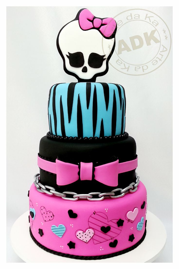 Top 25 Ideas About Cake Monster High On Pinterest