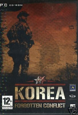 KOREA: FORGOTTEN CONFLICT  PC  NUOVO!!!