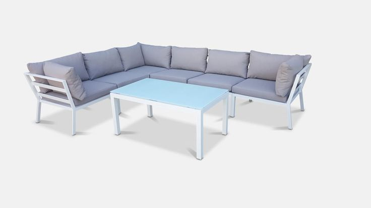 Maldives 7pc Corner Lounge Suite from The Furniture Shack