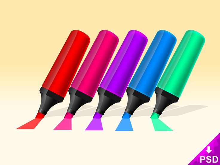 Neon Markers Icon