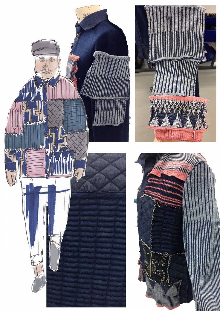 Fashion Portfolio - fashion design development; textiles; fashion sketchbook // Beth Robinson