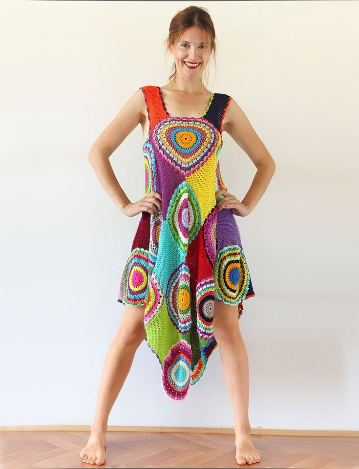 Women's Dress/Tunic  Light Silky Cotton by subrosa123 on Etsy, €250.00