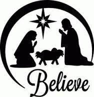 nativity silhouette cutout - Google Search