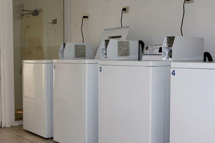la lavanderia del departamento en Huerfanos en santiago de chile que arendamos
