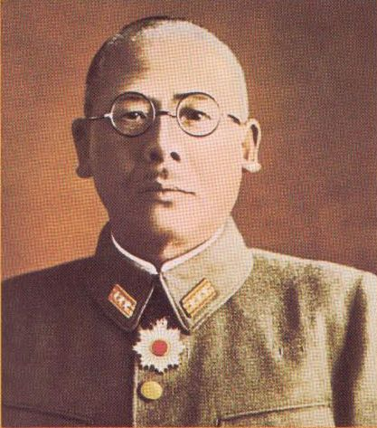 Imperial Japanese Army Colonel Yasuyo Yamasaki led Japanese forces during the Battle of Attu in May 1943. He died leading a banzai charge during the final attack. - Battle of Attu
