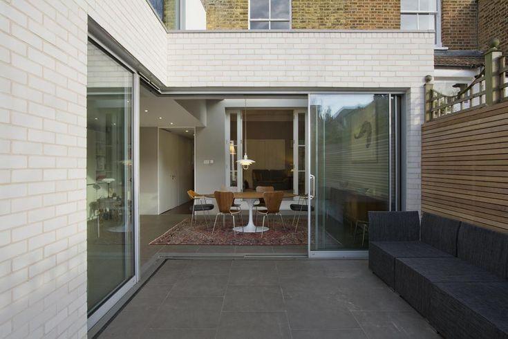 26 Best White Glazed Brick Images On Pinterest Brick