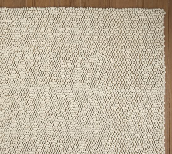Popcorn Loop Rug Ivory Pottery Barn Shopping For