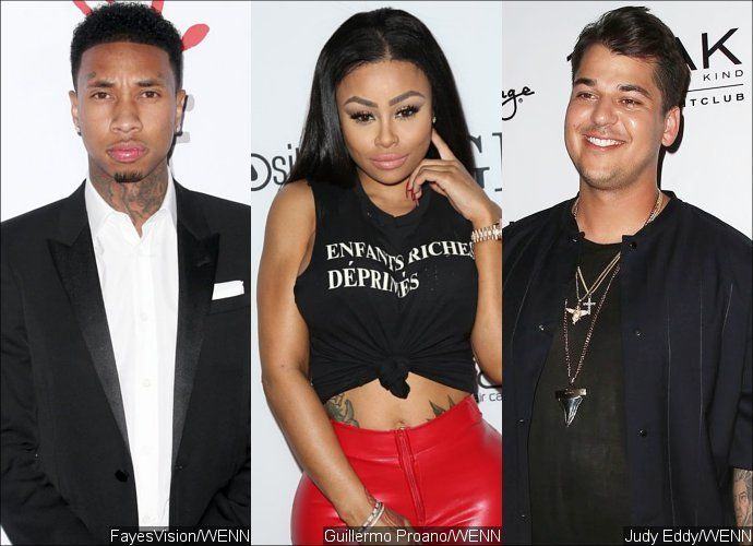 Tyga breaks his silence on Rob Kardashian