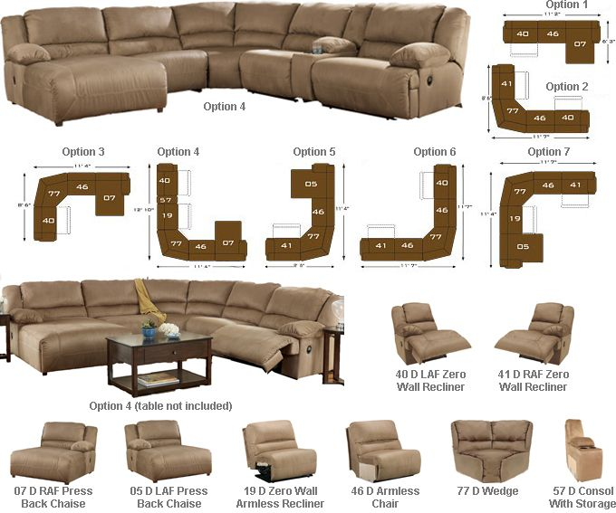 Living Room Seating Dimensions: 25+ Best Ideas About Reclining Sectional On Pinterest