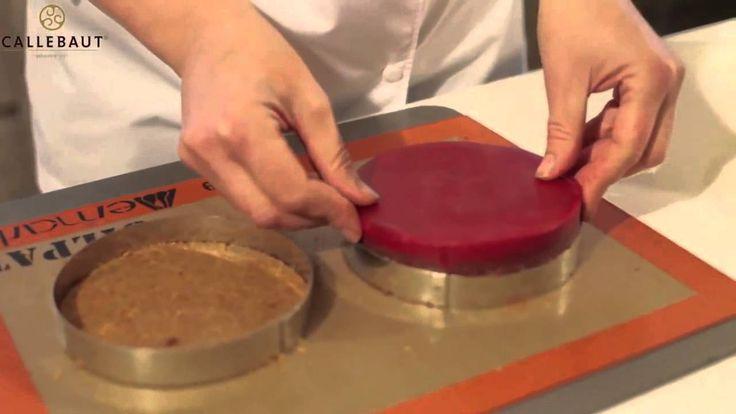 Ruth Hinks, UK World Chocolate Master, on how to create a chocolate and plum gateau