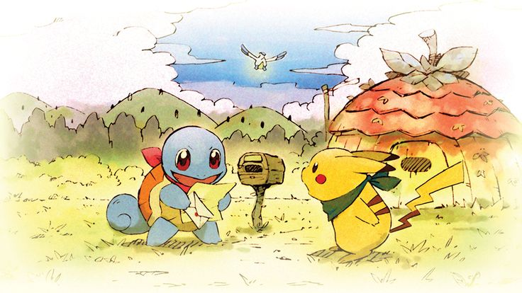 Reminder from Squirtle and Pikachu: take care of yourselves, Trainers! Pokémon Mystery Dungeon: Rescue Team DX is available now! Mew Pokemon, Moltres Pokemon, Pikachu, Bulbasaur, Pokemon Games, Nintendo Ds, Nintendo Switch, Nintendo Console, Dragon Quest